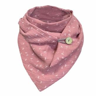 Baojunht Women's Shorts Women Scarf Plaid Large Blanket Long Shawl Wraps Winter Scarf Warm Cozy Blanket Classic (Pink)