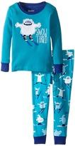 Hatley Ski Monsters Snow Tired Pajama Set (Toddler/Little Kids/Big Kids)