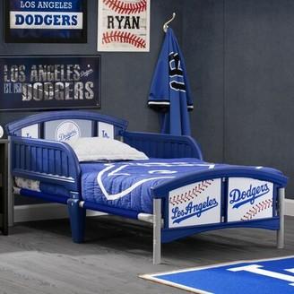 Delta Children Los Angeles Dodgers Plastic Toddler Bed