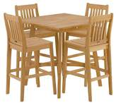 Oxford Garden 5pc Patio Dining Set
