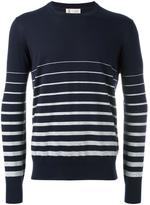 Brunello Cucinelli striped pattern jumper - men - Cotton - 50