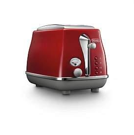 De'Longhi Delonghi Ctoc2003R Icona Capitals 2 Slice Toaster - Red