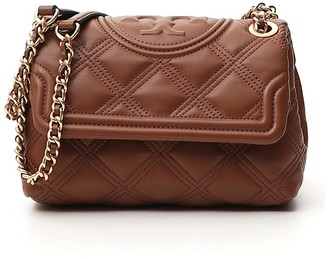 Tory Burch Fleming Quilted Chain Shoulder Bag