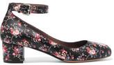 Tabitha Simmons Martha Floral-Print Leather Pumps