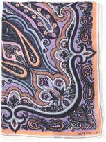 Etro Bombay Print Cashmere & Silk Blend Scarf