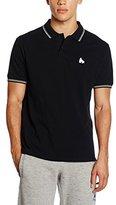 Money Clothing Men's Double Stripe Polo Shirt
