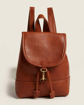 Street Level Brown Small Backpack