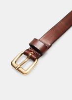Mango Outlet Leather Skinny Belt