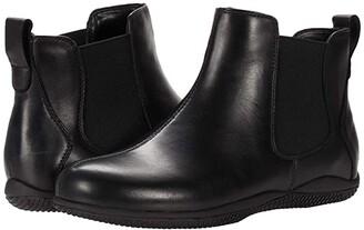 SoftWalk Highland (Black Leather) Women's Boots
