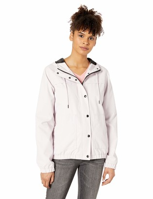 Volcom Junior's Junior's Plus Size Enemy Stone Windbreaker Jacket