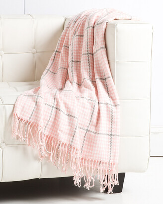 Belle Epoque Houndstooth Cashmere Touch Throw