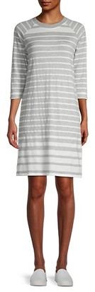 Tiana B Striped T-Shirt Dress