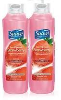 Suave Essentials Sun Ripened Strawberry Shampoo 12 oz - Pack of 2