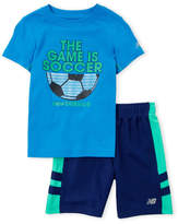 New Balance Boys 4-7) Two-Piece Soccer Tee & Shorts Set