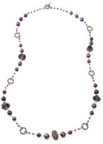 Stephen Dweck Verona Long Quartz/Pearl Necklace, 39""