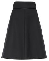 RED Valentino Twill skirt