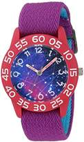 EWatchFactory Girl's 'Discovery Channel' Quartz Plastic and Nylon Sport Watch
