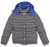 Petit Bateau Unisex zippered, padded anorak in heavy jersey