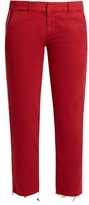 Nili Lotan East Hampton stretch-cotton trousers