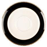 Denby Praline Noir Stoneware Wide Rim Tea Saucer