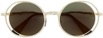 Kuboraum Oversized Round Sunglasses