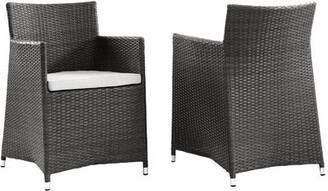 Modway Everett Patio Arm Chair with Cushion