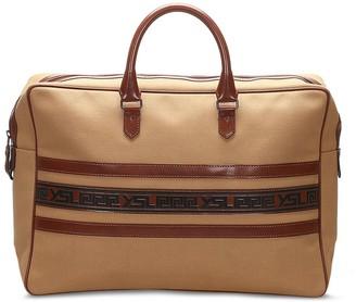 Yves Saint Laurent Pre-Owned Stripe Applique Tote Bag