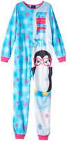 Girls 4-16 Jelli Fish Animal One-Piece Pajamas