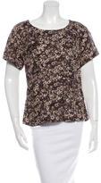 Louis Vuitton Floral Silk Top