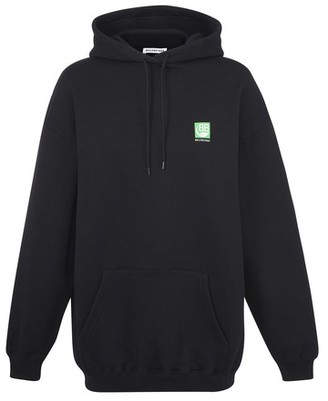 Balenciaga Green Logo sweatshirt