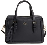 Kate Spade Orchard Street - Elowen Leather Satchel - Black