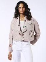 Diesel DieselTM Leather jackets 0TAOT - Pink - XS