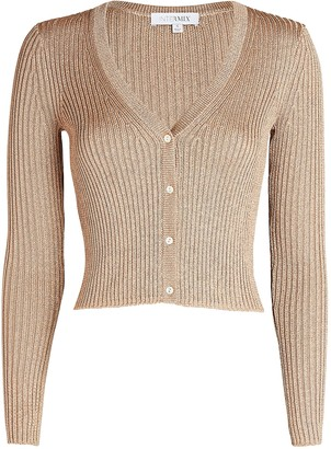 Intermix Marla Cropped Cardigan