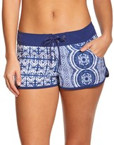 "Roxy Women's Visual Touch 2"" Fixed Waist Boardshort 8151937"
