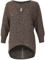 Izabel London **Izabel London Beige 3/4 sleeve Top