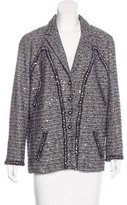 Chanel Embellished Tweed Blazer