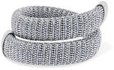 Carolina Bucci Caro White Gold-plated And Lurex Bracelet