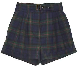 NSF Max Plaid Shorts