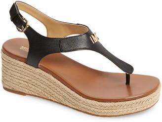 MICHAEL Michael Kors Laney Espadrille Platform Wedge Sandal