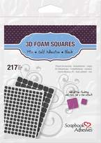 Scrapbook Adhesives by 3L Corporation 3D Foam Squares -Assorted