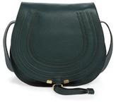 Chloé 'Marcie - Medium' Leather Crossbody Bag - White