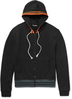 Raf Simons - Loopback Cotton-blend Jersey Zip-up Hoodie