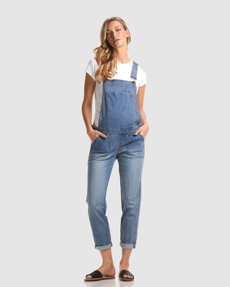 Soon Alice Denim Overalls