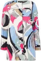Ellen Tracy Hopsack printed lady coat