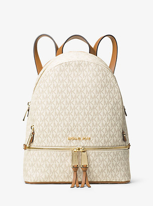 Michael Kors Rhea Medium Logo Backpack