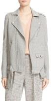 Theory Tralsmin Wool & Cashmere Moto Jacket