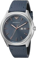 Emporio Armani Men's AR1978 Zeta Analog Display Analog Quartz Watch