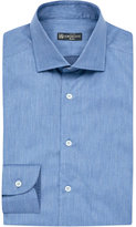 Corneliani Slim-fit Chambray Cotton Shirt