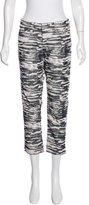 Etoile Isabel Marant Zebra Low-Rise Jeans