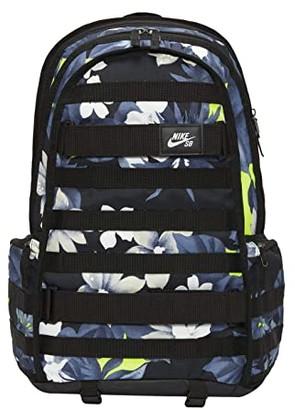 Nike SB RPM All Over Print Backpack (Black/Black/White) Backpack Bags